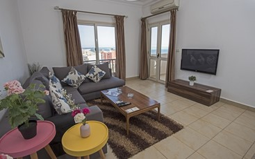 Superior Two Bedroom Apartment with Sea View